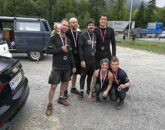 Viking Sons bei dem WildSau Run in Österreich