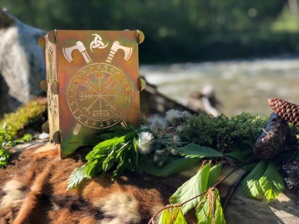 Ambientleuchte Wikinger - Bronze