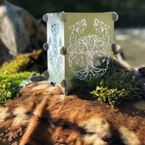 Ambientleuchte Wikinger - Silber