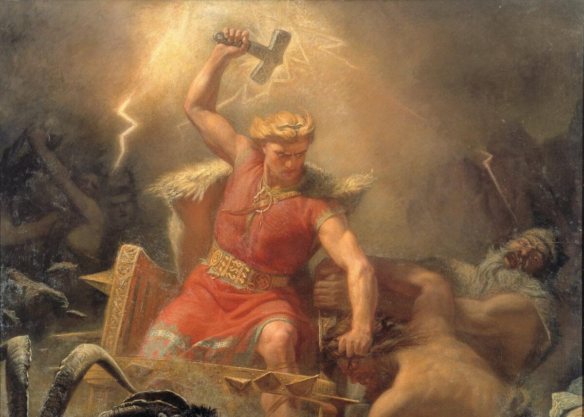 Der Gott Thor