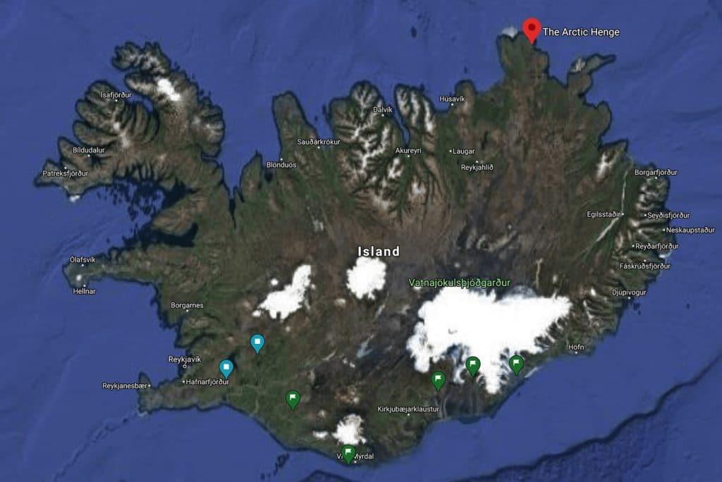 Standort Arctic Henge