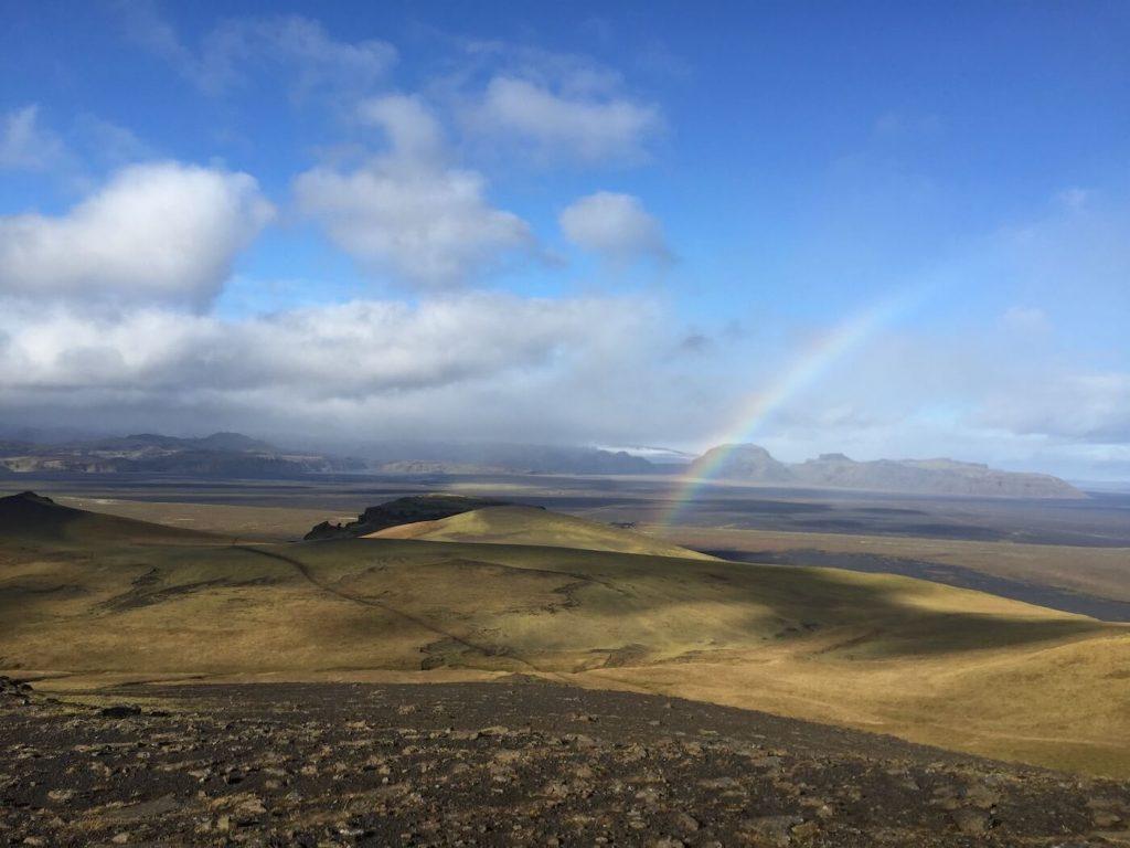 Berg Island Regenbogen