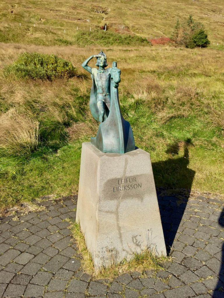 Statue des Leifur Eiriksson