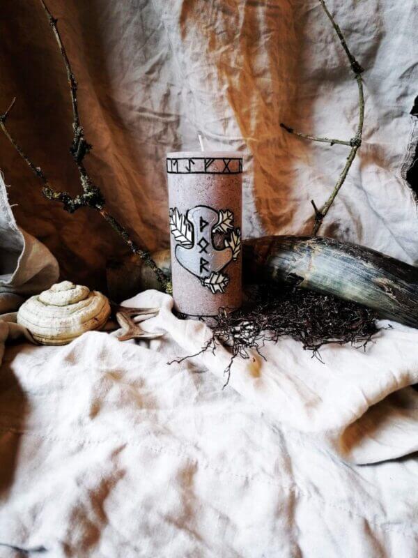 Kerze - Thor der Donnergott 1