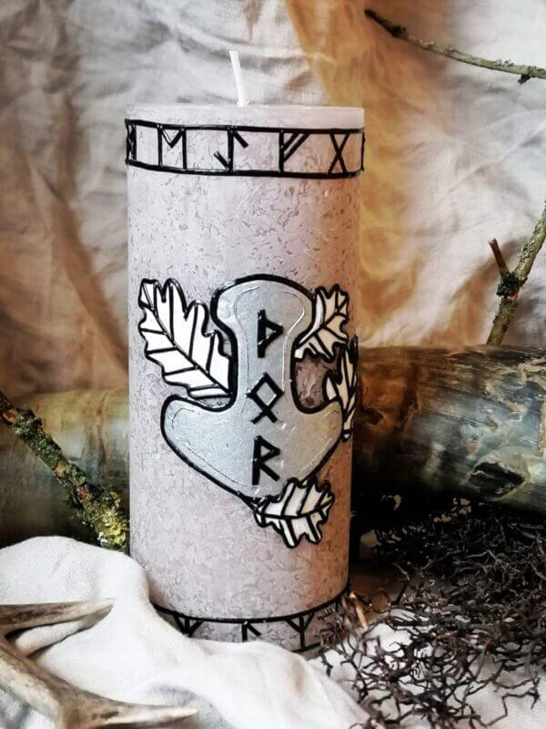 Kerze - Thor der Donnergott 4