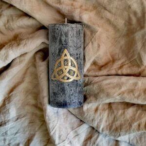 Kerze Triqueta - Triskele 1