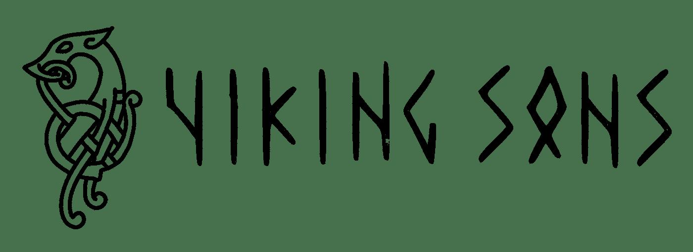 Viking Sons Logo Schwarz