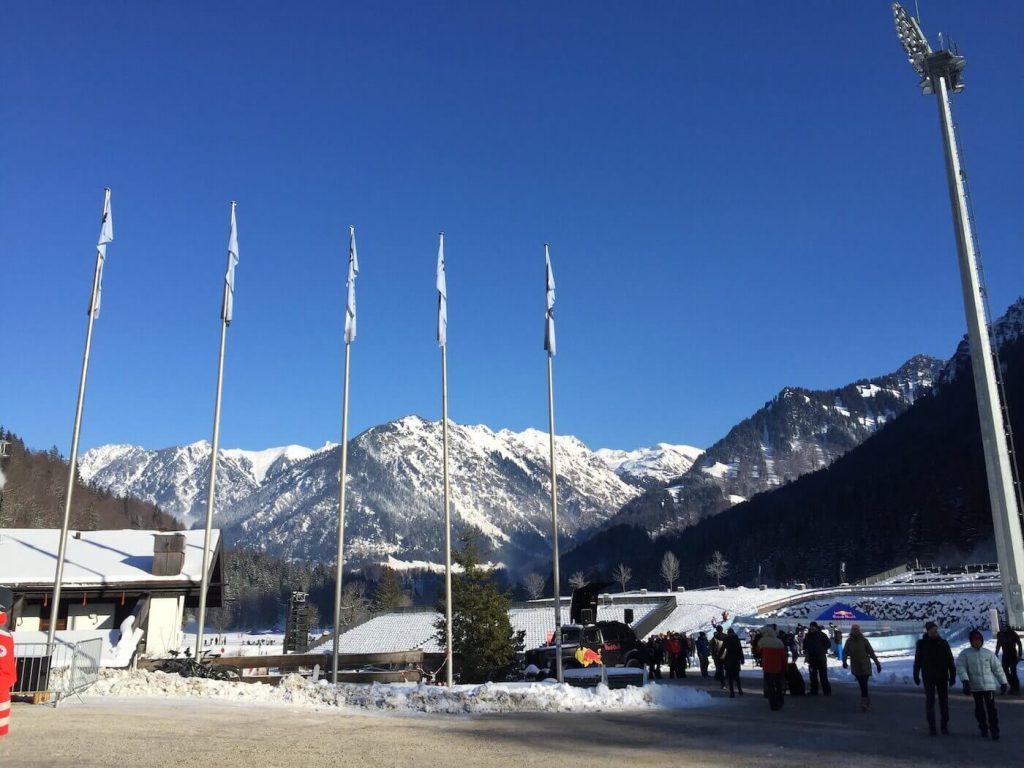 Location Red Bull All In Oberstdorf