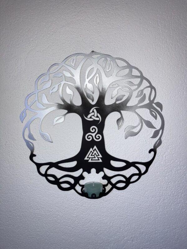Wandlicht Yggdrasil