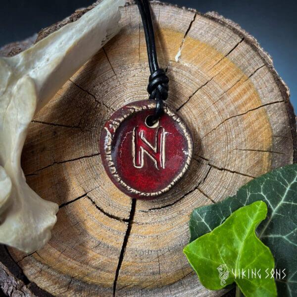 Runenkette - Hagalz rot