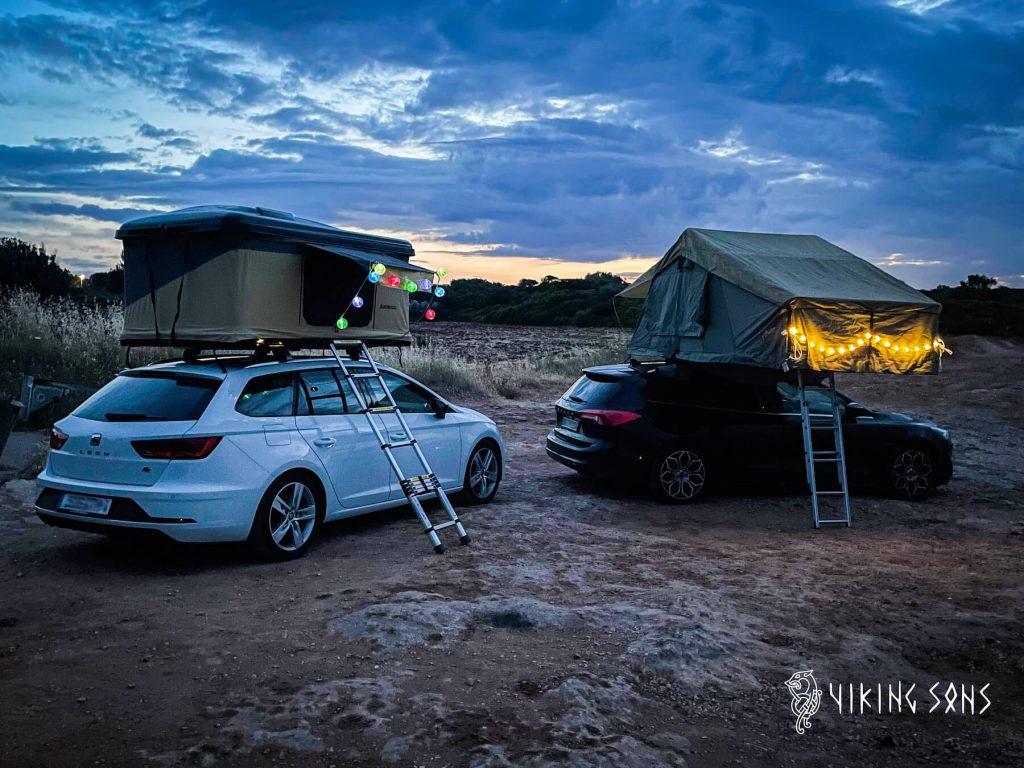 Autos mit Dachzelt