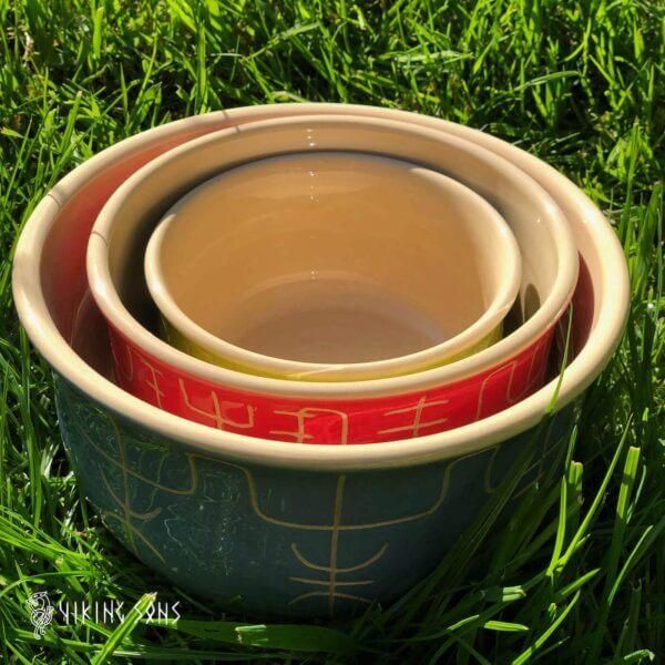 Keramikgeschirr Galdrastafir