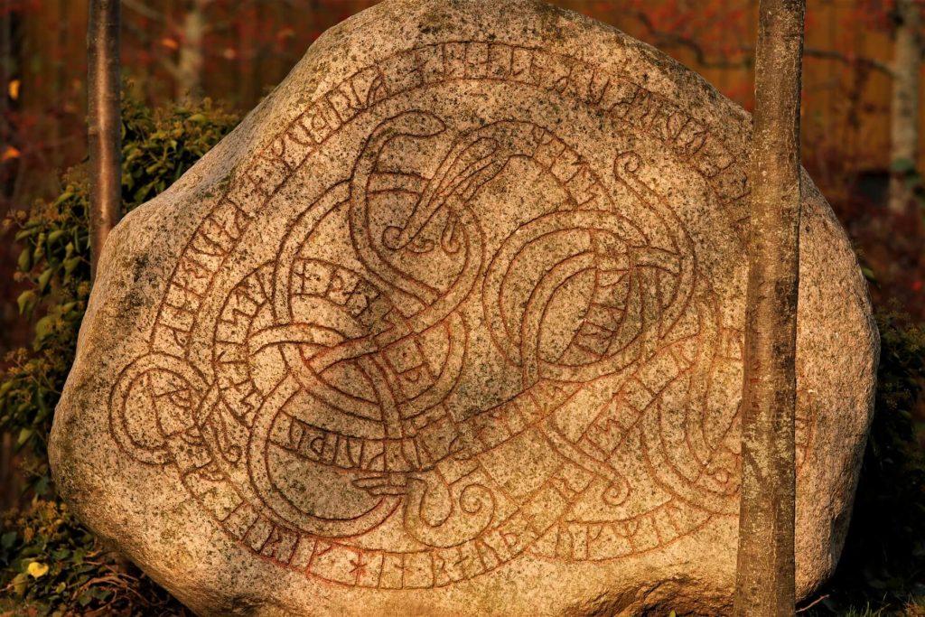 Runenstein in Trelleborg - Schweden